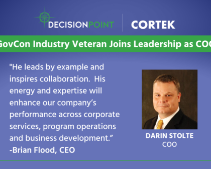 Darin Stolte, New DecisionPoint | CORTEK COO