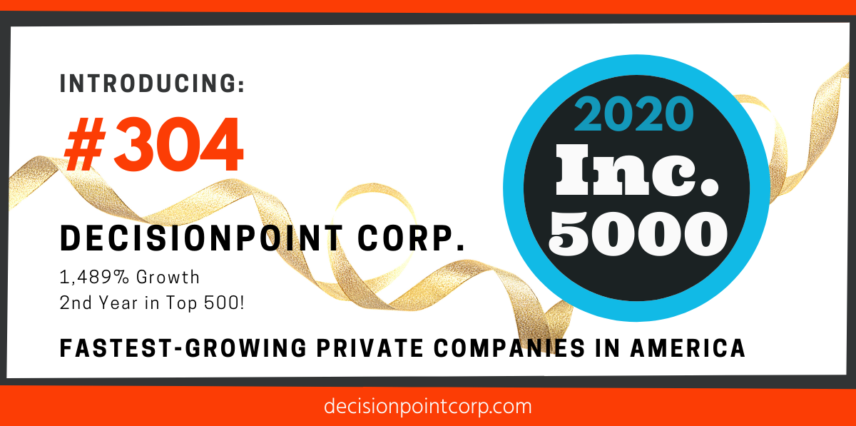 DecisionPoint Corp. #304 on Inc. 5000