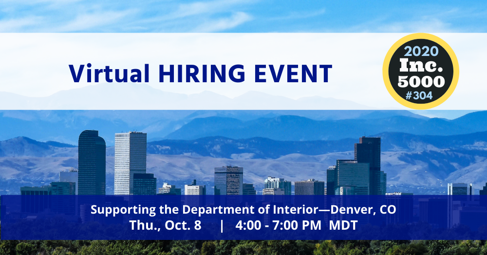Virtual HIRING EVENT for Denver, CO